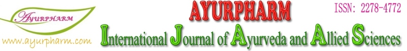 Ayurpharm IJAAS